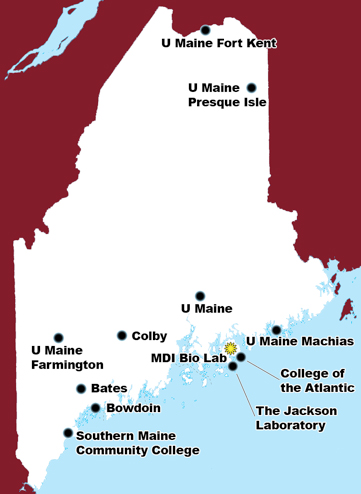 Maine INBRE institutions