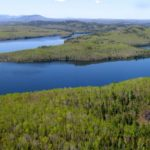 Ebsconeag Lake aerial