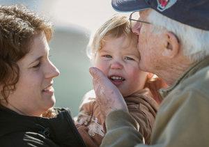 Aging - three generations