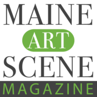 Maine Art Scene Magazine logo