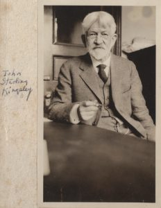 A file photograph of John Kingsley